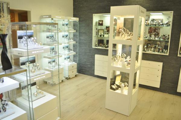 Uhren- und Trend Shop Verkaufsfläche
